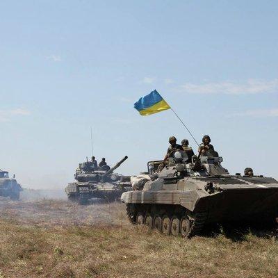 За прошедшие сутки боевики 46 раз обстреляли позиции сил АТО