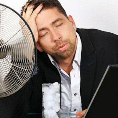 Как заставить себя работать в жару