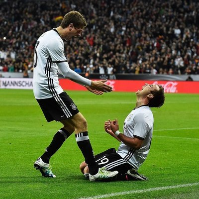 Германия побеждает в драматичной серии пенальти