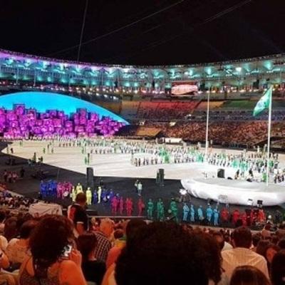 В Сети появились фотографии репетиции церемонии открытия Олимпийских Игр в Рио-де-Жанейро