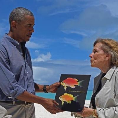 Тихоокеанская рыбка получит имя президента США Обамы