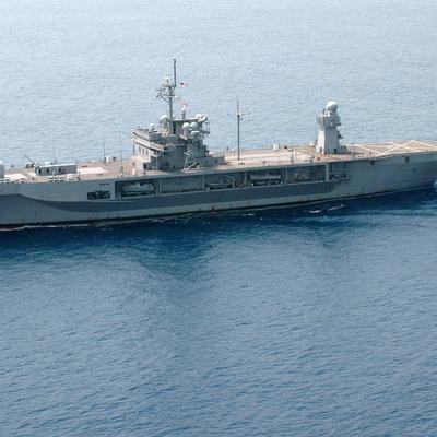 Американский военный корабль вошел в Черное море