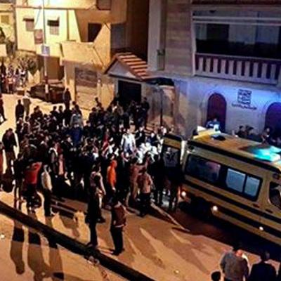 В Египте произошел страшный пожар
