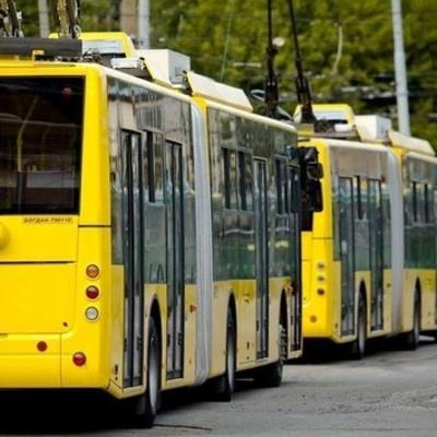 Троллейбусное сообщение между Троещиной и Оболонью будет закрыто
