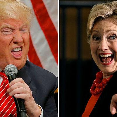 Трамп и Клинтон исполнили украинский хит (видео)