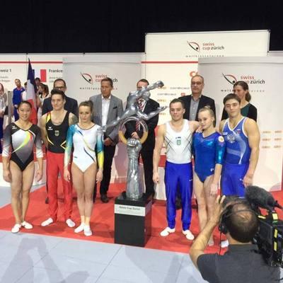 Украинские гимнасты выиграли Кубок Швейцарии
