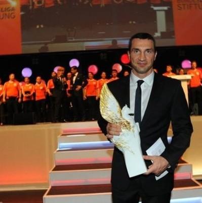 Владимир Кличко получил награду «Спортсмен с сердцем»