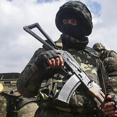 В зоне АТО в результате обстрелов погиб украинский военный