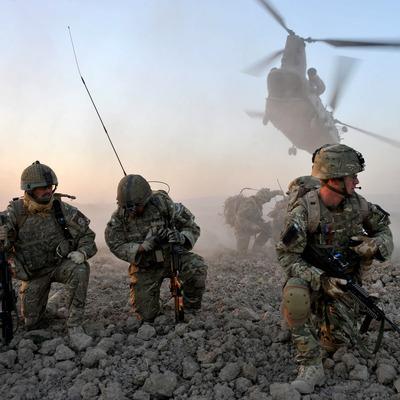 «Легион НАТО в Верхней Жованке» - на передовой вывесили флаг США (Фото)