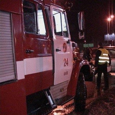 В Киеве произошло ДТП с участием маршрутки (Фото)