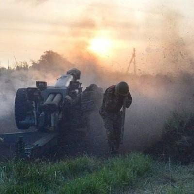 Силы АТО точным ударом уничтожили боевые позиции «ДНР» (видео)