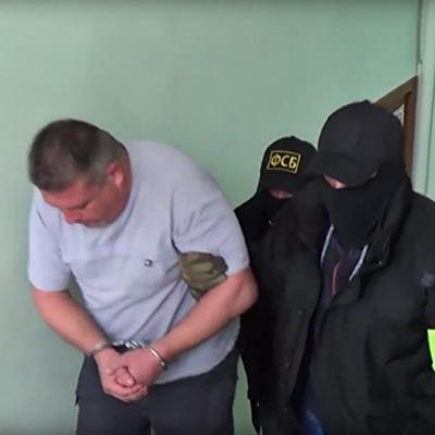 ФСБ заявила о задержании в Крыму экс-военного РФ через шпионаж в пользу Украины