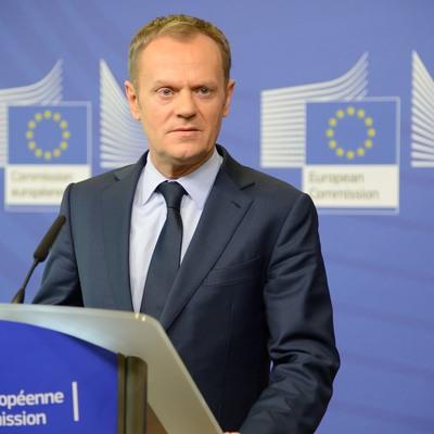 Глава Европейского совета Дональд Туск произнес речь на украинском языке (видео)