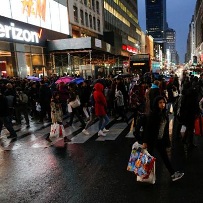 Черная пятница в фото из США (фото)