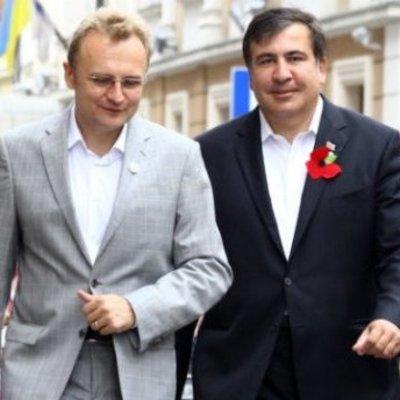 «Рух новых сил» Саакашвили станет партией и объединится с «Самопомочью»
