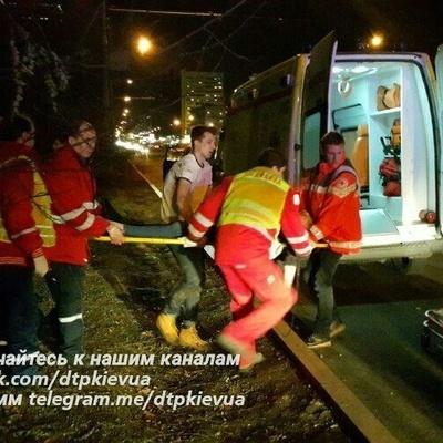 В Киеве автомобиль на всей скорости врезался в забор Киевского зоопарка (фото)