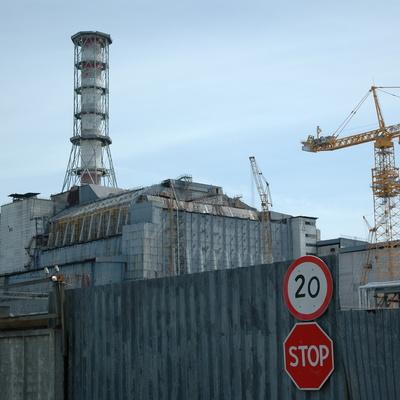 Чернобыльскую АЭС накрыли защитной аркой