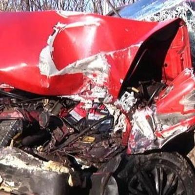 В Кривом Роге произошла тройная авария (фото)