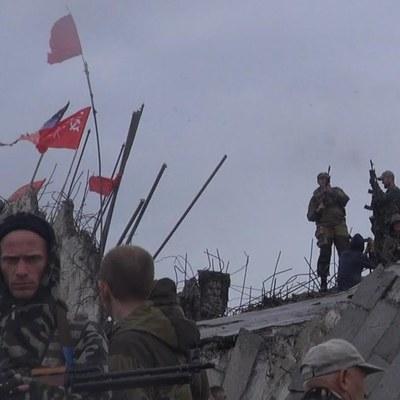 «ДНРовцы» возводят свой «храм»