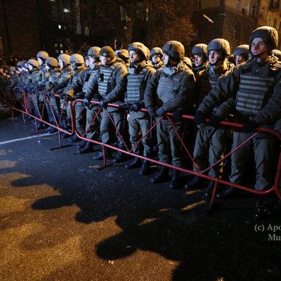 В Киеве прошла акция по случаю годовщины Марша миллионов (фото)