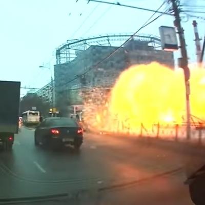 В Москве произошел взрыв на станции метро (Видео)