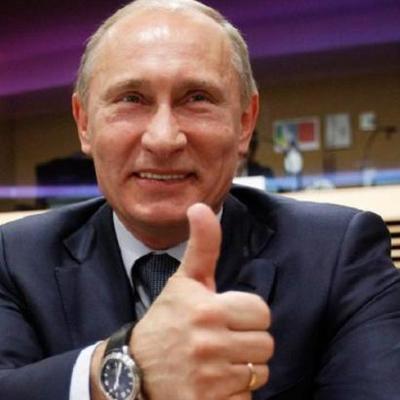 Дедушка, не стесняйтесь: В сети показали новогоднюю карикатуру на Путина