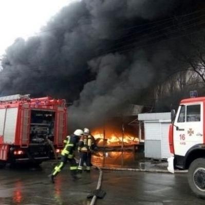 В Киеве сгорели 2 кв. км Дарынка
