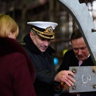 В Киеве показали новейшие корабли украинского флота (Фото, видео)