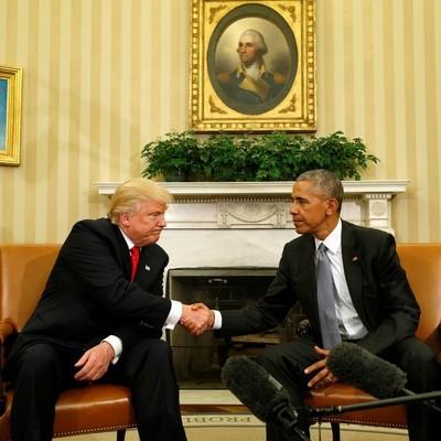 Трамп резко изменил свое мнение об Обаме