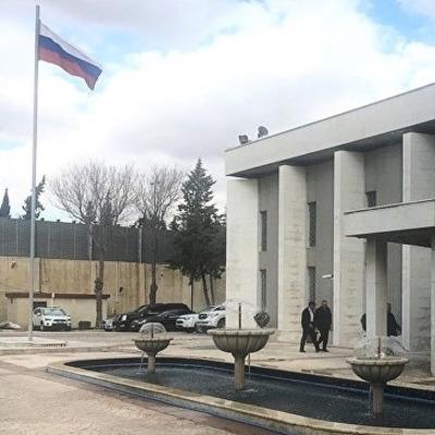 Посольство России еще раз обстреляли