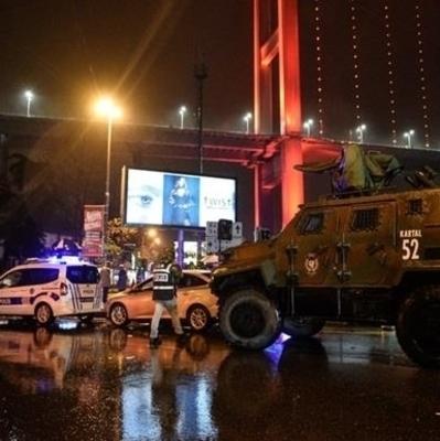 Копы уничтожили террориста в Стамбуле (Видео)