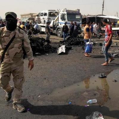 В результате взрыва в Багдаде погибли 32 человека