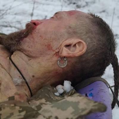 В Киеве простились с военным, над телом которого надругались боевики