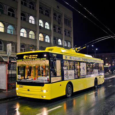 В Киеве запустили ночной общественный транспорт