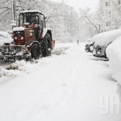 В Киеве проводятся усиленные уборки дорог