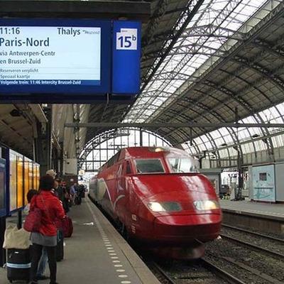 В Нидерландах электропоезда перевели на энергию ветра