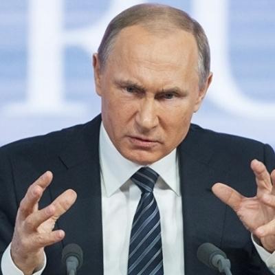 Путин возглавил рейтинг негодяев по версии Bild