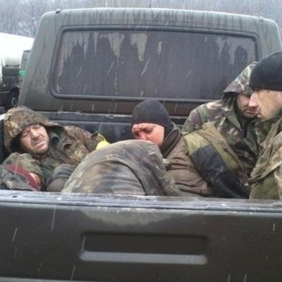 Волонтеры показали россиян, расстрелявших украинских военных вблизи Дебальцево (фото, видео 18+)