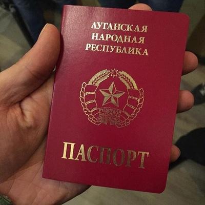 Украинские паспорта будут раздавать в ЛНР/ДНР