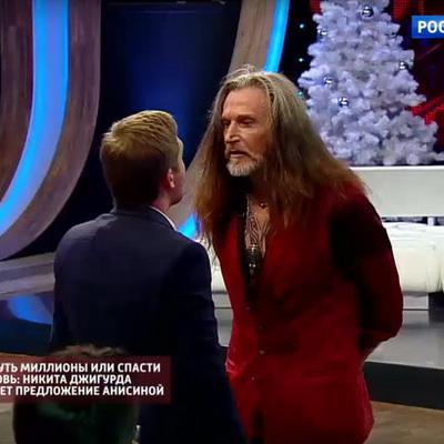 Никита Джигурда спровоцировал конфликт в прямом эфире (видео)