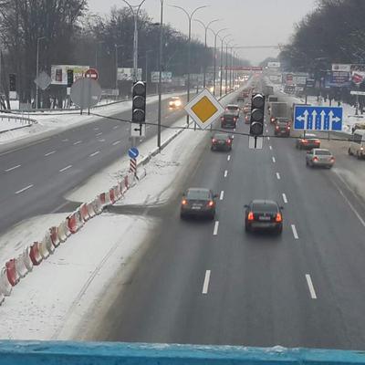 На въезде в Киев должны убрать неудобный светофор