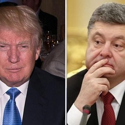 В субботу Порошенко поговорит с Трампом