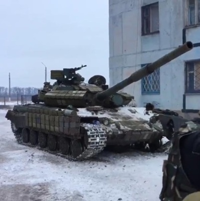 По Авдеевке стреляли из танка, - штаб АТО