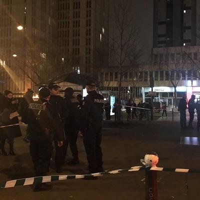 В парижском метро прогремел мощный взрыв (Фото)
