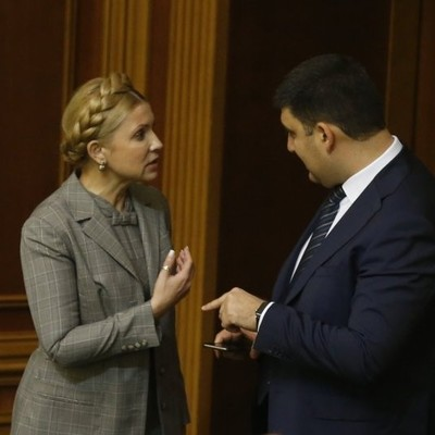 Гройсман разразился критикой в адрес Тимошенко: назвал ее мамой популизма и коррупции в Украине