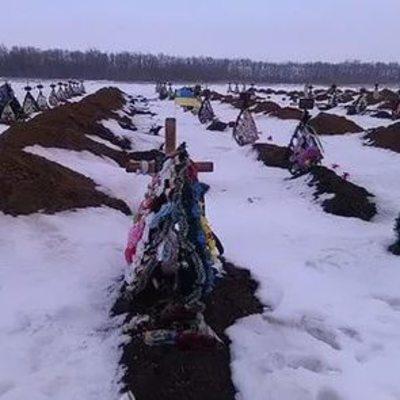 На кладбище в оккупированном Донецке появилось множество новых могил