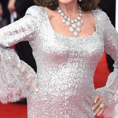 83-летняя британская актриса потрясла внешним видом (фото)