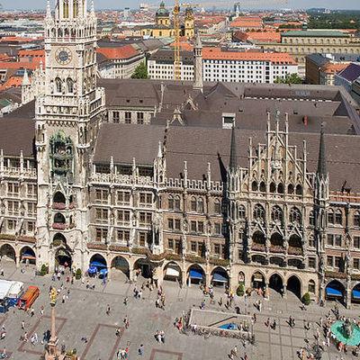 Пожилой мужчина поджег себя в центре Мюнхена
