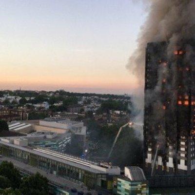 Из-за пожара в Лондоне в больницы доставлены уже 30 человек