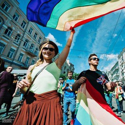 В Киеве проходит марш за права ЛГБТ (прямая трансляция)